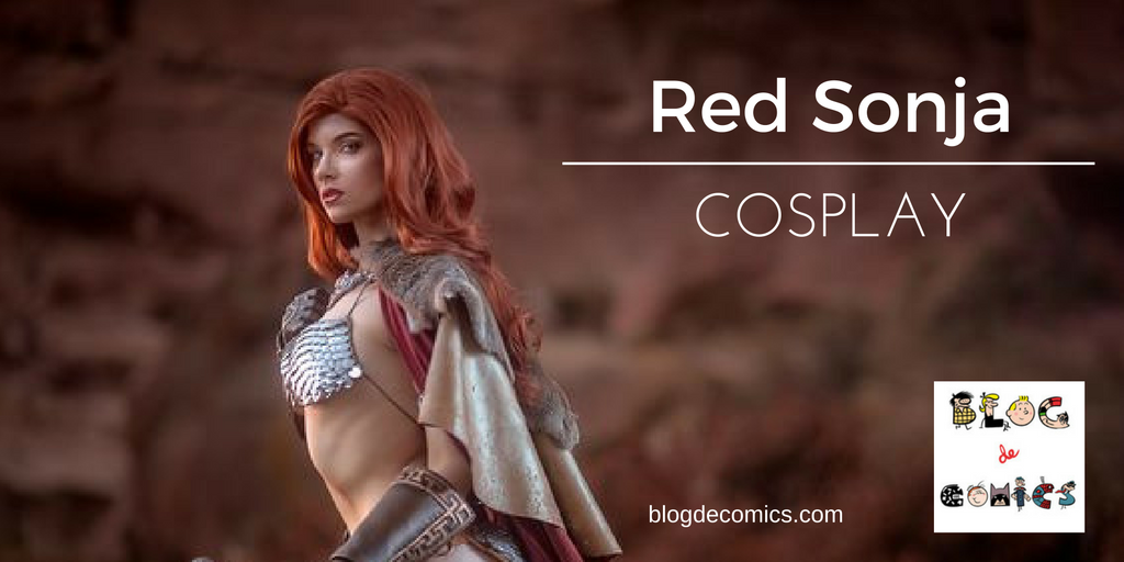 COSPLAY RED SONJA