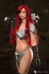 Red Sonja Cosplay Project Alice Cosplay