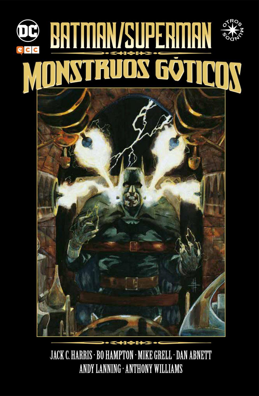 Batman/superman monstruos goticos