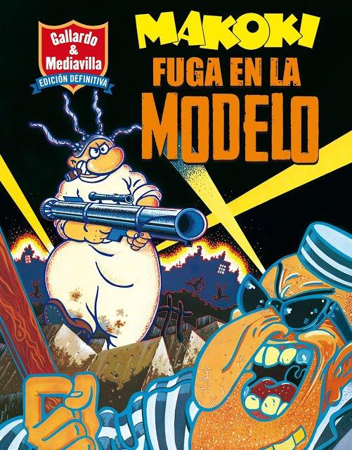 Gallardo y Mediavilla-Makoki-Fuga en la modelo