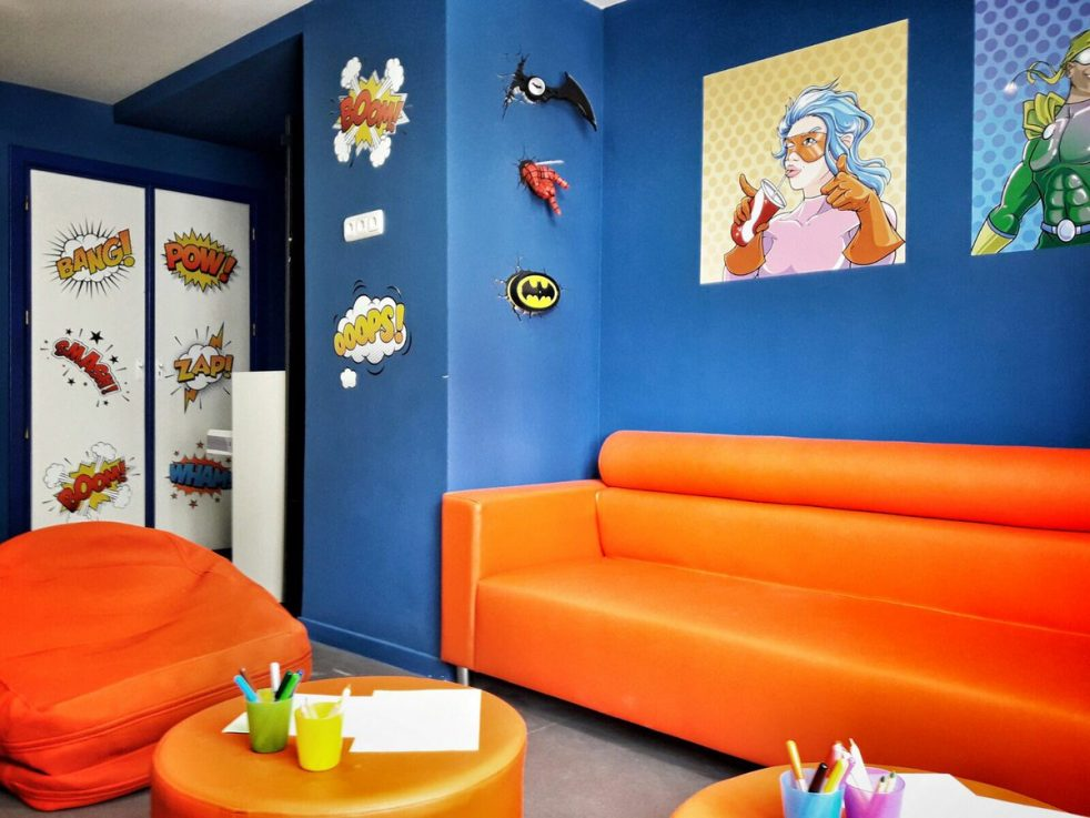 salon de comic juegaterapia