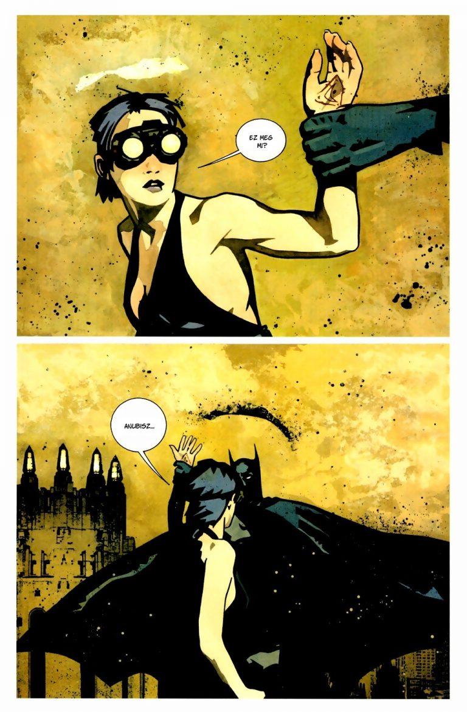 batman ankh