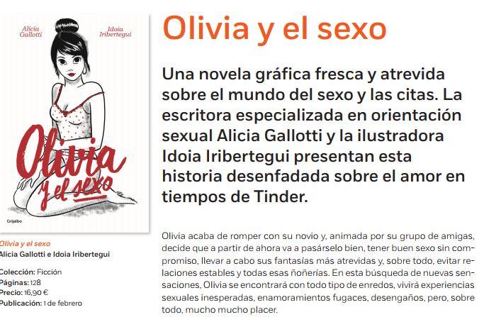 Olivia y el sexo