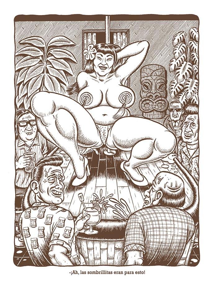 TIKI topless furillo