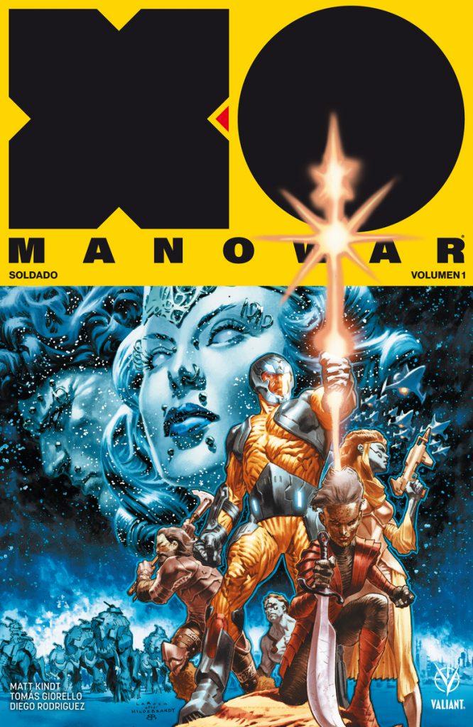 x-o manowar soldado volumen 1