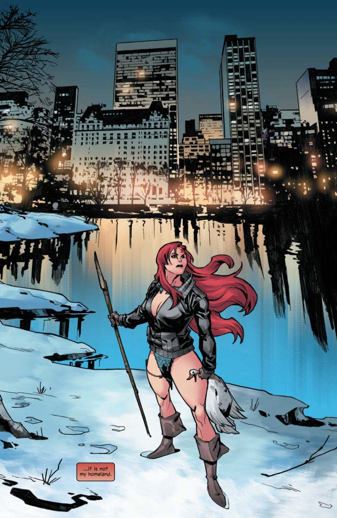 Red Sonja mundos de distancia interior
