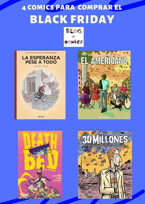 4 comics para comprar el black friday